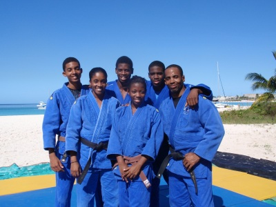 Proud member of the Barbados judo national team