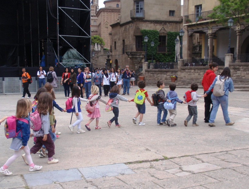 children in Barcelona