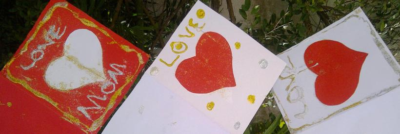#love cards, moms, DIY